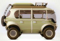 Carro Nimbus All-Terrain Concept Van - Brazil