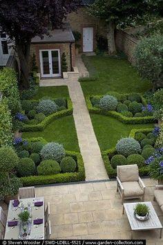 Geometrisch, symmetrisch, gut: Formaler Garten