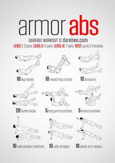 Armor Abs By Darebee.com