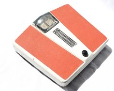 Orange Bathroom Scale Weight Scale Mid Century Bathroom Decor Brabantia Made in Germany by VerifiedVintageNL on Etsy