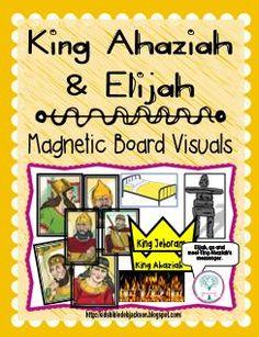 Cathy's Corner: King Ahaziah
