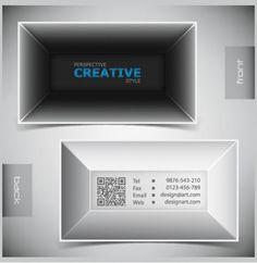 2 Designer Prospective Business Card Templates Set - http://www.dawnbrushes.com/2-designer-prospective-business-card-templates-set/