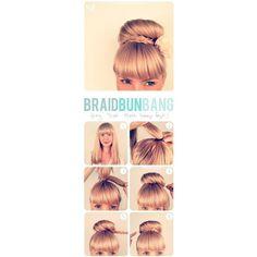 hairstyles via Polyvore