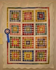 Quilt I quilted several years back.  It took a Viewers Choice.  I still love the colors on this one.