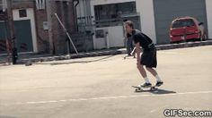 Best Skateboard Trick Ever GIF 2015 - www.gifsec.com