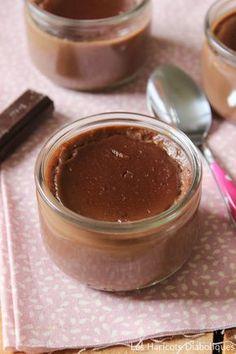 Crèmes dessert végétales amande-chocolat