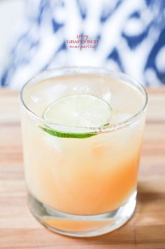spicy grapefruit margarita   #whiskeybusiness