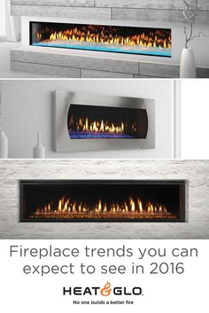 Fireplaces are a must-have for stealing center stage as a fiery focal point. Here are the hot hearth trends you'll see lighting up rooms across the world. Center Stage, Trending Now, Fireplaces, Hearth, Rooms, Trends, Canning, Lighting, Building