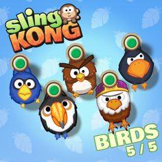 Birds 5/5! #SlingKong http://onelink.to/slingkong