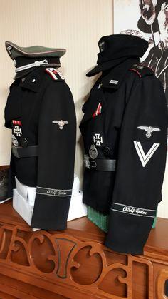 ww2 SS LSSAH Panzer uniforms