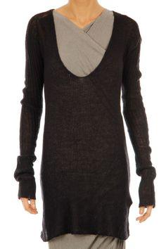 Rick Owens long sleeve sweater