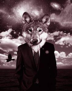 El aullido de los lobos nos llegó desde cerca. Fue casi como si los aullidos brotaran al alzar él su mano, semejante a cómo surge la música de una gran orquesta al levantarse la batuta del conductor.  Bram Stoker
