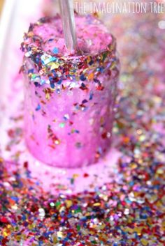 Sparkly, fizzing fairy potions