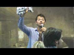 Funny Moment of Misha Collins at the Roadhouse con - Rio de Janeiro
