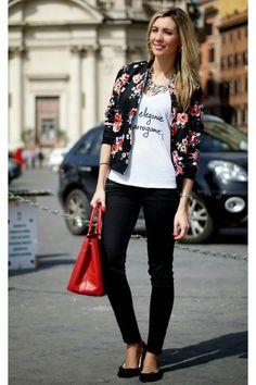 More elegance, less arrogance!- Spring/Summer street style