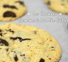 Recette - Les cookies comme à la Mie Caline - Proposée par 750 grammes
