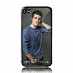 Josh Hutcherson  iPhone 4 4s Case Black Case  by CraftTiny on Etsy, $14.99