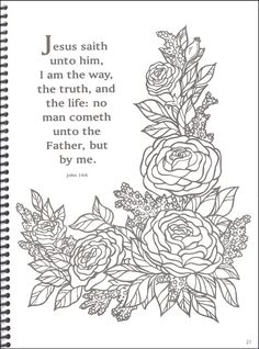 Other pages feature verses accented by pictures such as a Bible, praying hands, or a flowering branch. Description from rainbowresource.com. I searched for this on bing.com/images