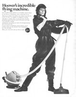 Hoover Constellation Canister Vac 1967 Ad Picture