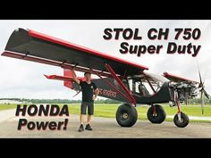 STOL CH 750 Super Duty powered by the Viking Honda engine Kit Planes, Plane Engine, Light Sport Aircraft, Bush Plane, Airplane Flying, Private Pilot, Escape The Fate, Company Work, Honda S