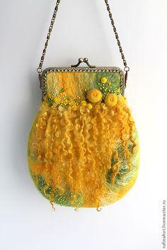 Валяные сумочки от Руфины Хотемлянской