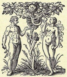 'Adam and Eve: The Tree of Knowledge & Death' by Jost Amman, 1587