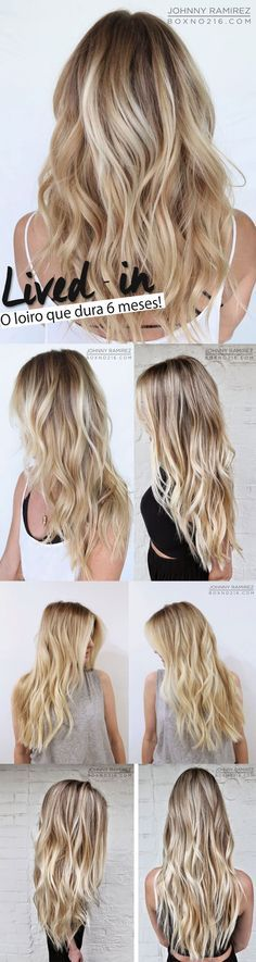 Lived-In, do Johnny Ramirez o Loiro que Dura 6 Meses Mais My Hairstyle, Pretty Hairstyles, Summer Hairstyles, Bad Hair, Hair Day, Blonde Hair Inspiration, Beautiful Blonde Hair, Corte Y Color, Hair Color And Cut