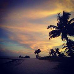 Sunset at Sombrero Beach, Marathon Key, FL