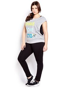 trendy fitness fashion outfits active wear plus size Casual Sporty Outfits, Sport Outfits, Sport Fashion, Fitness Fashion, Fashion Outfits, Look Plus Size, Plus Size Women, Workout Attire, Workout Wear