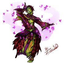Dancing Sylvari by TheSnowZombie.deviantart.com on @deviantART