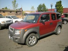 2004 Honda Element- this is MINE! Literally:)