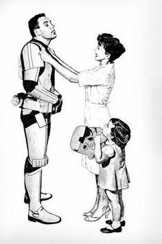 Vintage stormtrooper #Geek #StarWars