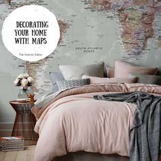 Mapping It Out – Decorating Your Home with Maps | The Interior Editor