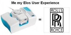 The Me my ELOS is the Rolls Royce of the home hair removal systems. It is faster, safer, less painful than any other system.. See Me vs Remington IPL --->Click Image<--