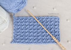 Sådan: Hækl Den Crunch Stitch - Easy Tutorial