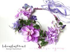 Blumenkranz+Blumenkrone+**TERESA**+in+love+again+von+Lebenslust2in1+auf+DaWanda.com