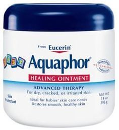 Aquaphor is one of the most popular diaper creams on weeSpring. Parents swear by it for everything from diaper rash to dry skin to baby massage.