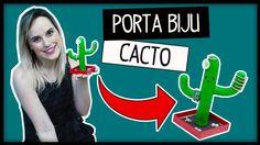 DIY: Decoração Cacto Porta Biju Ft. Eduardo Wizard