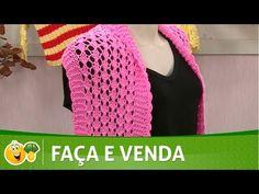 Vida com Arte   Colete em tricô por Vitória Quintal - 16 de Novembro de 2016 - YouTube