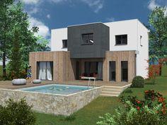 Découvrez les plans de cette une maison évolutive sur www.construiresamaison.com >>>
