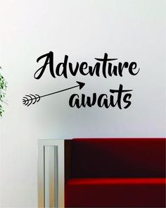 Wall Vinyl Art travel the world airplane quote decal sticker wall vinyl decor art