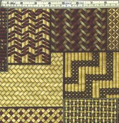 taniko patterns and meanings Maori Designs, Flax Weaving, Basket Weaving, Bamboo Weaving, Weaving Art, Weaving Patterns, Textile Patterns, Maori Patterns, Scrappy Quilts