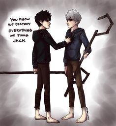 Jack vs Jack Frost by AlexDasMaster on DeviantArt Dark Jack Frost, Jack Frost And Elsa, Jack And Jack, Jack Black, Dreamworks Animation, Disney And Dreamworks, Jackson Overland, Guardians Of Childhood, Dark Disney