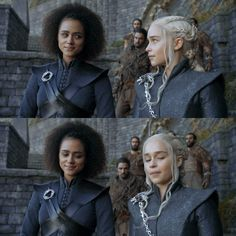 Awwww Missande and Dany are such cute besties! Love these two! Xo