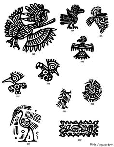 Design Motifs of Ancient Mexico CD-ROM and Book Dover Publications