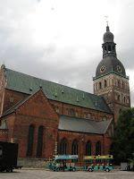 Baltijas Valstis (a balti államok): Riga – Óváros (Vecrīga)   Dóm