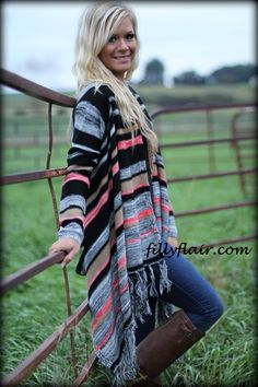 Cardigan of Many Colors - Filly Flair