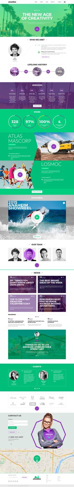 The Most Creative WordPress Themes Collection