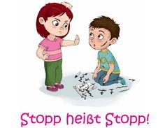 material-intern - Zaubereinmaleins - Stopp heißt Stopp