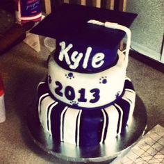 Graduation cake. @Tammie Parrish-Moyer Crittenden